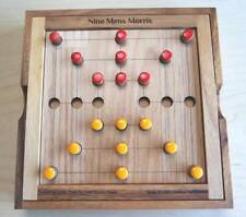 ww sq05 NINE MEN/'S MORRIS THE ANCIENT MILL or MERELS BOARD GAME