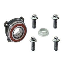 For BMW E39 5-Series M5 Rear Wheel Bearing and Nut and 4 Bolts Kit High Quality