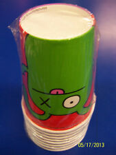 Uglydoll Ugly Dolls Cartoon Kids Birthday Party Supplies 9 oz. Paper Cups