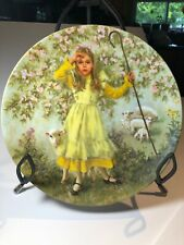 """Little Bo Peep"" by John McClelland (Mother Goose) 8.5"" Collector Plate (1983)"