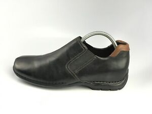Cole Haan Zeno Black Leather Driving Shoes Loafers Mens Sz 10.5 M  Slip On