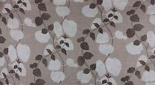 Villa Nova Foxley Brown  Natural Linen Fabric Remnant 3 Off Cut Bundle