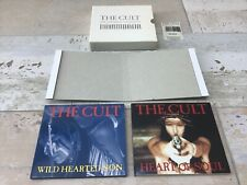 The Cult - Ceremony Collection Box - 2  X CD Single - BEG255CD - White EP - 1991
