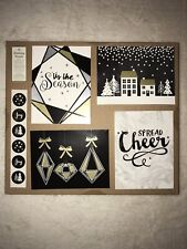 Holiday Silver Black 16 Christmas Greeting Card 4 Diff Styles Envelope 4 Of Each