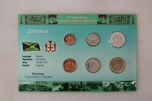 JAMAICA COIN SET WITH COA B38 #8