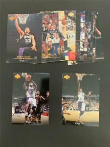 1995/96 Upper Deck Sacramento Kings Team Set 14 Cards