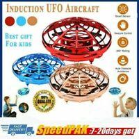 Mini Drone Quad Induction Levitation UFO Flying Toy Hand-controlled Kids Gift EM
