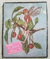 Lanarte Cross Stitch Kit Kissing Cherries Fairy