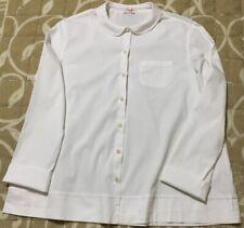 Confezione di 3 Ragazze//Donna Nero Camicia A Maniche Lunghe//Camicetta Schoolwear//Uniform