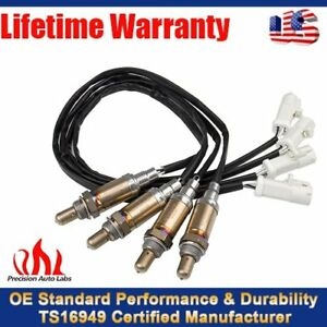 4Pcs O2 Oxygen Sensor Front &Rear fit Lincoln Aviator For Ford E-150 F-150 E-250