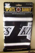 LOS ANGELES KINGS wallpaper border NHL hockey banner 1994 logo NWT trim LA