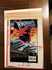 Doom 2099 AD #30 Marvel Comics Color Acetate Separation Comic Art One Of A Kind
