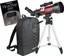 Orion 10034  70mm Refractor Travel Telescope Moon Kit