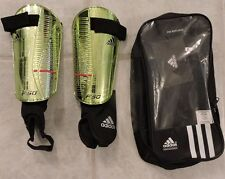 "Adidas F50 Replique Shin Guards with Case, M (5""3""), Metallic"