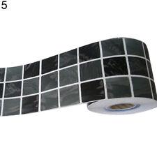 1m Waterproof Tile Wall Sticker Floor Kitchen Bathroom Self-adhesive Decal EP_