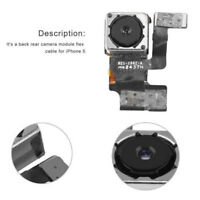 1pc Front Rear Back Main Camera Lens Flex Cable Replacement part For iPhone 5 5s