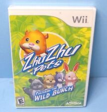 Zhu Zhu Pets: Featuring the Wild Bunch (Nintendo Wii, 2010)BRAND NEW SEALED