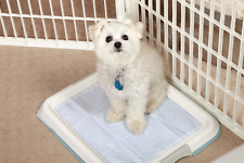 Training Pet Puppy Dog Pad Holder Trainer Tray Pet Litter Potty Housebreaking
