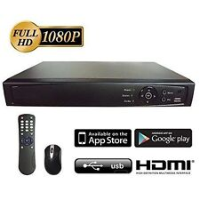 8CH DVR 1080P  Auto Detects Analog/ 960H/ HD-TVI, AHD, HD-TVI, 4K HDMI Output