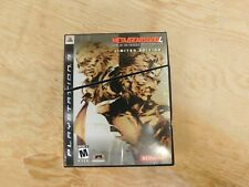 Metal Gear Solid 4: Guns of the Patriots Limited Edition Sony PlayStation 3