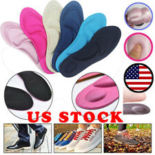 4D Orthotic Flat Feet Foot High Arch Gel Heel Support Shoe Inserts Insoles Pads