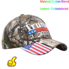 Donald Trump 2020 MAGA Camo Embroidered Hat Keep Make America Great Again Cap Sd