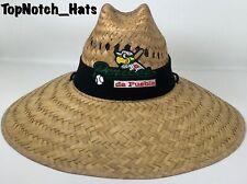 Pericos De Puebla Straw Hat Black Brand New Ships Now !!!