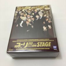YURI ON ICE Yuri on STAGE DVD Japan First Benefits With Selphie light SEALED F/S