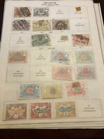 Belgium 🇧🇪 LOT OF OLD STAMPS