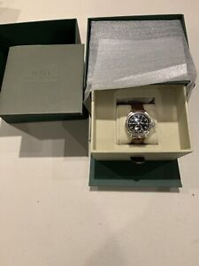 Ball Trainmaster 21st Century Watch, Crocodile band, Limited Edition, RRP £2,750
