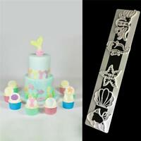 Sea Shell Ocean Starfish Octopus Fish Cutter Sugarcraft Fondant Cake Cutter Mold