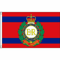 Royal Engineers Corps Flag 5Ft X 3Ft British Military Army Banner With 2 Eyelets
