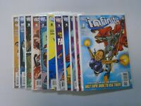 Infinity Inc run #1 to #12 no #11 2nd Second Series 11 books 8.0 VF (2007)