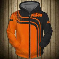 3D Drucken motogp Herren Hoodie KTM Racing Motorrad Sweatshirt Kapuzenpullover