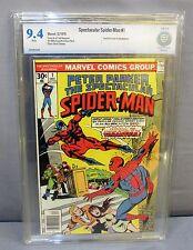 SPECTACULAR SPIDER-MAN #1 (Tarantula cover) White Pgs. CBCS 9.4 Marvel 1976 cgc