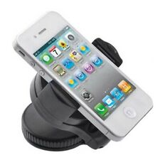 Car Mount Windshield Holder Glass Cradle Swivel Dock Suction for Smartphones