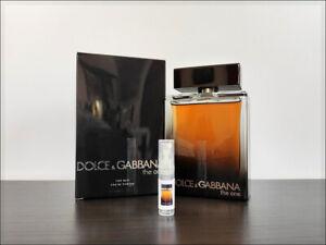 Dolce & Gabbana The One For Men Eau de Parfum 2 ml Sample Decant Fragrance