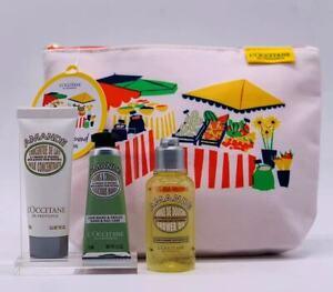 30%OFF L'Occitane Almond Essential GiftPouch ShowerOil MilkConcentrate HandCream