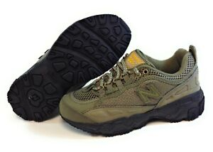 Kids Youth Boys New Balance 801 BEB Army Green Sneakers Shoes SS Sample Sz 13