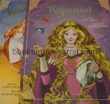 Rapunzel / Rumpelstiltskin   (2 books) - - - -  Traditional Fairy Tales