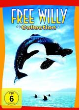 Free Willy Collection 1- 4 Alle Filme 4 DVDs Box Exklusivbox Neu Ovp