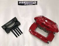 VAUXHALL ASTRA G & H VXR RED BREMBO BRAKE CALIPERS AND ADAPTERS