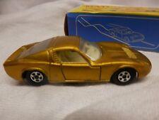 Matchbox 1969 Lamborghini Miura 1:64 Diecast Car Series Lesney No.33 gold