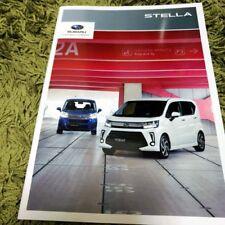 2017 SUBARU STELLA Japanese Brochure JDM