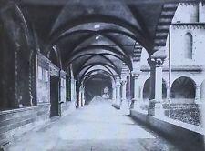 Santa Maria Novella Church Cloister, Florence, Italy, Magic Lantern Glass Slide