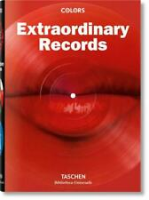 COLORS ~ EXTRAORDINARY RECORDS ~ TASCHEN ~ PROFUSELY ILLUSTRATED ~ NEW