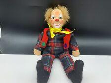 Sigikid Stofftier Sammler Clown 27 cm. Top Zustand