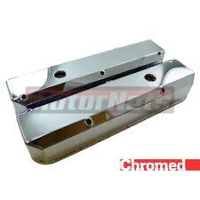 Small Block Chrysler Plymouth Mopar Fabricated Chrome Aluminum Valve Covers 318