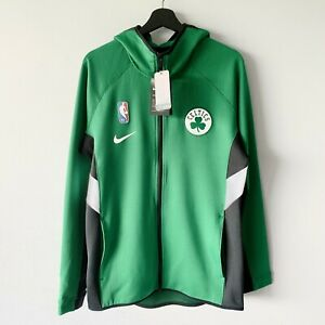 NWT Nike Boston Celtics Showtime Therma Flex NBA Hoodie Jacket Green Black XL