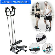 Fitness Workout Exercise Air Stair Stepper Machine Cardio Equipment+ Handle Bar